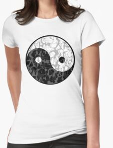 YUNG YIN and YANG Womens Fitted T-Shirt