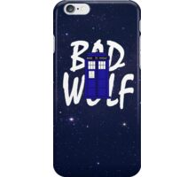 Bad Wolf Variation iPhone Case/Skin