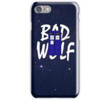 Bad Wolf Variation iPhone Case/Skin