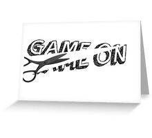 Destroy the game Greeting Card