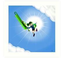 Super Jump Art Print