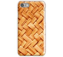 WOVEN STRAW iPhone Case/Skin