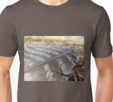 Tawny Frogmouth Feather Unisex T-Shirt