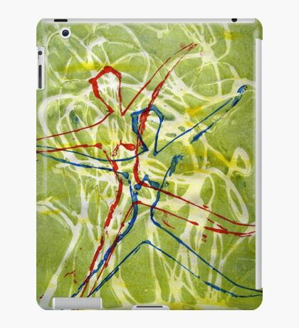 The Dancers 2 - Printmaking Dancers Series iPad Case/Skin