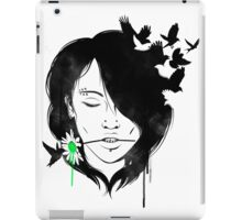 Girl Portrait - 5 iPad Case/Skin