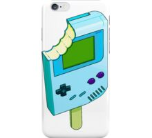 Blue Raspberry Gameboy iPhone Case/Skin