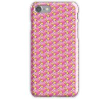 Pink Heart Emoji Pattern iPhone Case/Skin
