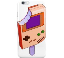 Peach Grape Gameboy iPhone Case/Skin