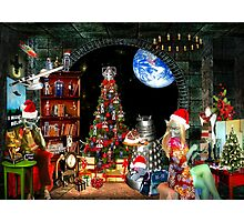 Christmas at the Kleegs Photographic Print