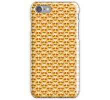 Heart Eyes Emoji Pattern iPhone Case/Skin