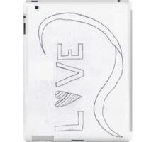 Waves of Love iPad Case/Skin