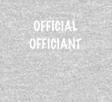 Official Officiant Unisex T-Shirt