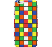 Cube Rubik Colors iPhone Case/Skin