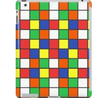 Cube Rubik Colors iPad Case/Skin