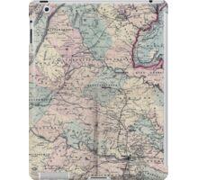 Civil War Maps 1558 Schonberg's Virginia campaign map 1864 iPad Case/Skin