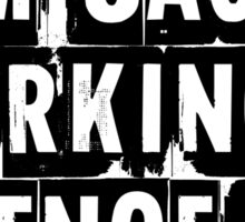 I Am Jack's Smirking Revenge - Fight Club Sticker