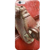 Hand handle iPhone Case/Skin
