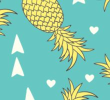 Patterned Pineapple Sticker