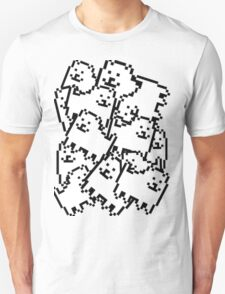 Undertale Annoying Dog Collage T-Shirt
