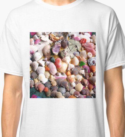 COLORFUL SEA SHELLS Classic T-Shirt