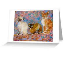 The Power of Three Greeting Card