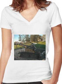 Wollongong Cannons, Australia 2007 Women's Fitted V-Neck T-Shirt