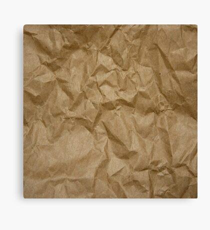 BROWN PAPER Canvas Print