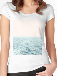 Sea Breeze #redbubble #home #lifestyle #buyart Women's Fitted Scoop T-Shirt