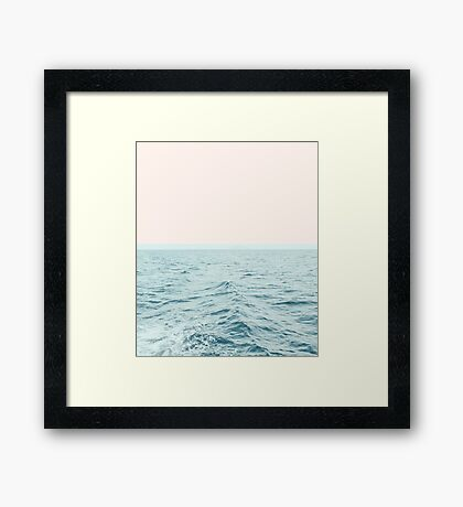 Sea Breeze #redbubble #home #lifestyle #buyart Framed Print
