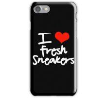 I Love Fresh Sneakers iPhone Case/Skin