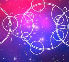 Gallifreyan Nebula Sticker