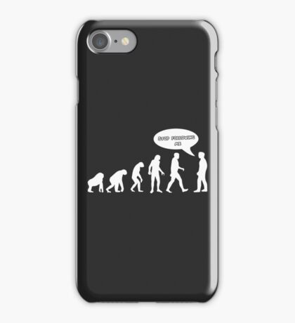 Stop Following Me iPhone Case/Skin