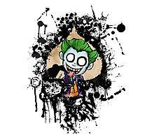 Joker Spade Photographic Print