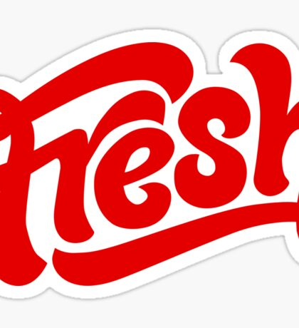 Fresh Red Sticker