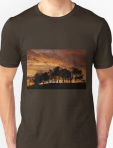 Stormy Sky at Sunset Unisex T-Shirt
