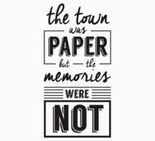 Paper Towns Kids Tee