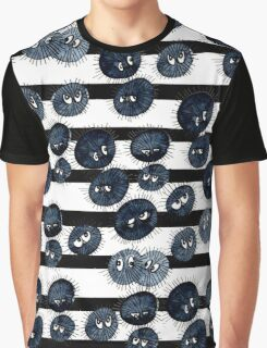 Moody Soot Sprites Graphic T-Shirt