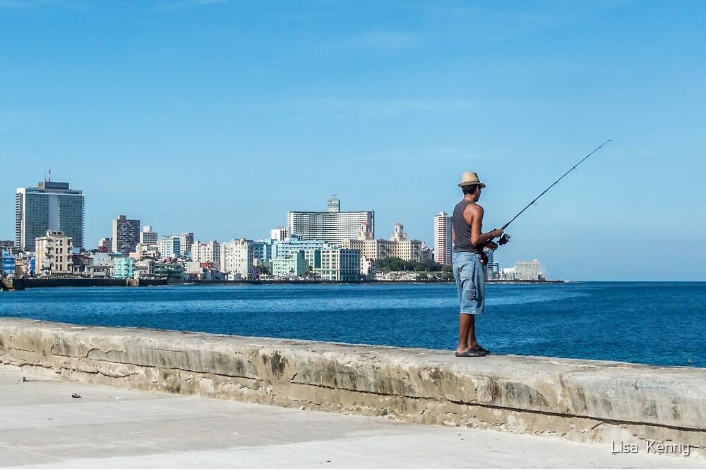 Fishing in Cuba by Lisa  Kenny