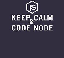 Keep Calm & Code Node Unisex T-Shirt
