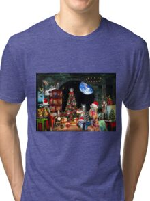 Christmas at the Kleegs Tri-blend T-Shirt