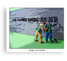 Ronnie catches one of the Colonel's crew red handed! Canvas Print
