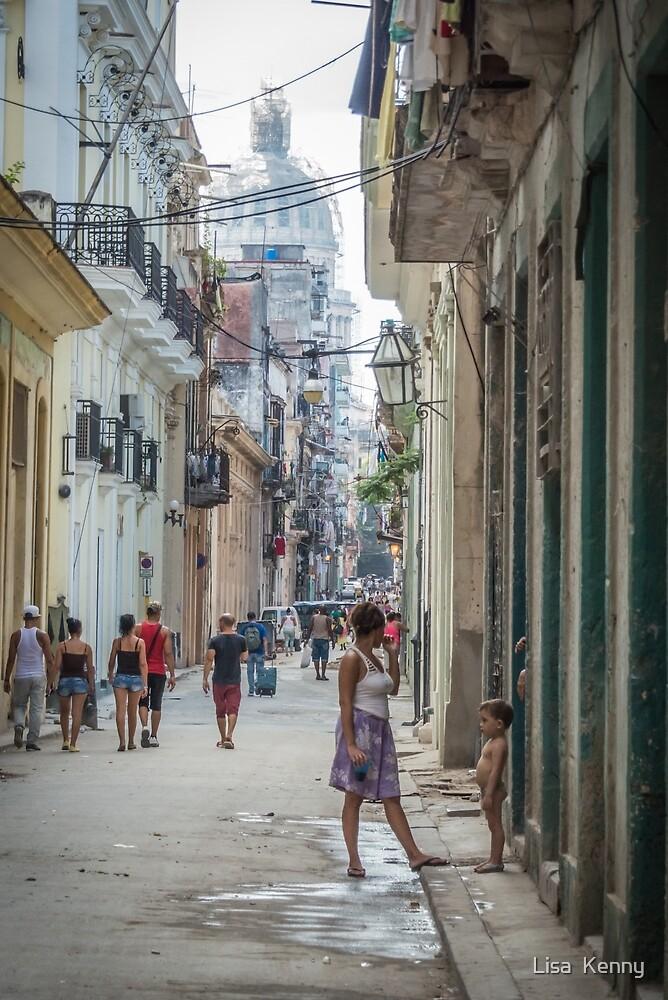 Street Life in Cuba by Lisa  Kenny