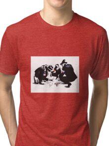 Global domination Tri-blend T-Shirt