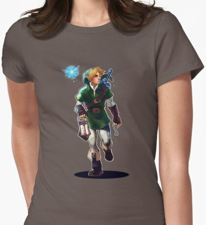 Dungeon Crawler Womens Fitted T-Shirt