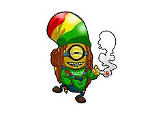 Rasta Minion Photographic Print