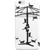 Hills Hoist cats - 2 iPhone Case/Skin