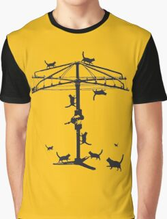 Hills Hoist cats - 2 Graphic T-Shirt