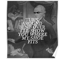 sassy ham wants none of your shit, jefferson Poster