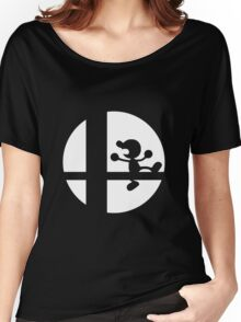Mr. Game and Watch - Super Smash Bros. Women's Relaxed Fit T-Shirt