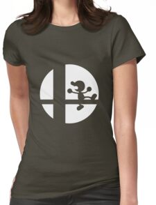 Mr. Game and Watch - Super Smash Bros. Womens Fitted T-Shirt